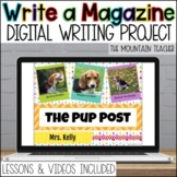 Magazine Project | Google Slides | Passion Writing Templat