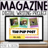 Magazine Project | Google Slides | Passion Writing Templat