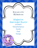 Magazine Scavenger Hunts for ELL Students