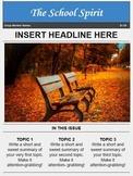 Magazine Template for Google Docs
