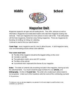 Magazine Unit