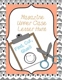 Magazine Uppercase Letter Hunt