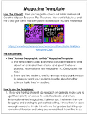Magazine-Writing Templates