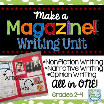 End of Year Writing Activity ~ Narrative, Informational and Opinion Writing