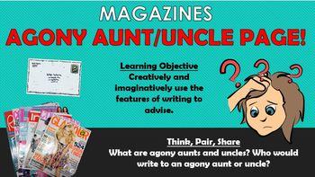 Magazines - Problem Page!