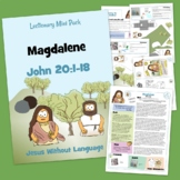 Mary Magdalene Easter Kidmin Lesson & Bible Crafts - John 20