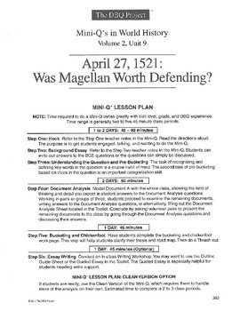 Magellan: DBQ