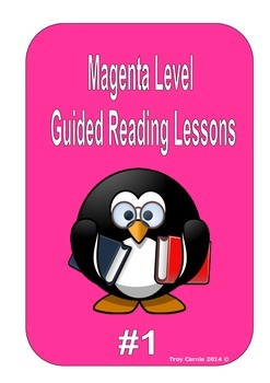 Magenta Level Guided Reading Lessons #1 - PM Series - L3