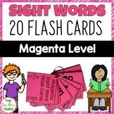 New Zealand Sight Words - Magenta Level Flash Cards