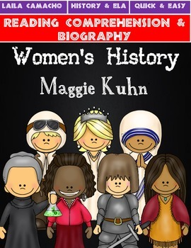 Women's History Month: Maggie Kuhn