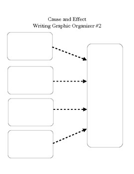 Maggie Made: Cause and Effect Graphic Organizer #2
