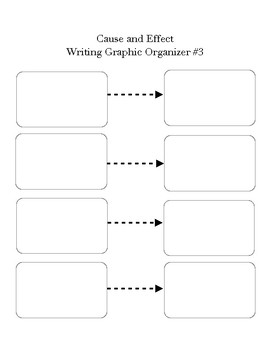Maggie Made: Cause and Effect Graphic Organizer #3
