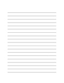 Maggie Made: Lined Paper