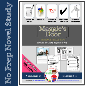 Maggie's Door by Patricia Reilly Giff Novel Study