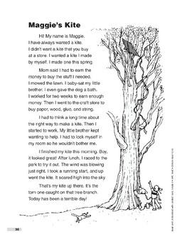 Maggie's Kite (Lexile 370)