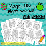 Magic 100 Sight Words Wordsearch