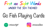 100's and 200's Sight Words - Go Fish Playing Cards