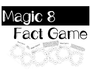 Magic 8's Fluency Game