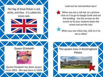 Culture of England-Social Studies/Around the World Activity with Google Earth