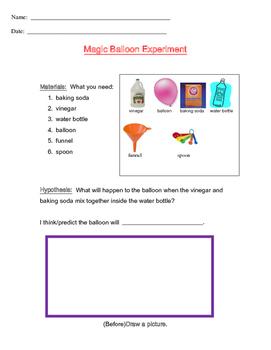 Magic Balloon Experiment
