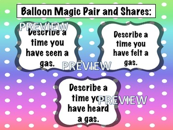 Magic Balloon - Properties of Gas