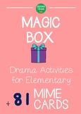 Pantomime Magic Box Mime Game: Drama Game for Pre-Kinderga