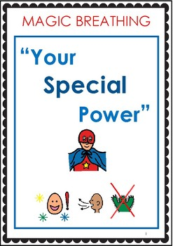 """Magic Breathing - """"Your Special Power"""" - Relaxation Social Story"""