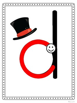 Magic C Letter Posters - Handwriting Without Tears Style