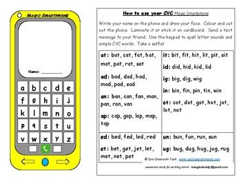 Magic CVC Phonics Smartphone