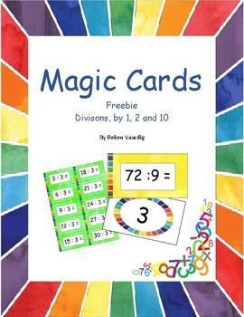 Magic Cards Division Freebie