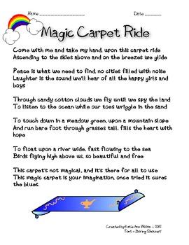 Magic Carpet Ride Poem - Inference
