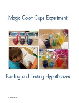 Magic Color Cups Experiment: Testing a Hypothesis