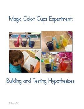 Magic Color Cups Experiment: Testing a Hypothesis
