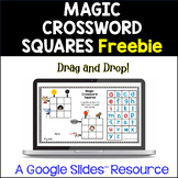 Magic Crossword Squares FREEBIE!