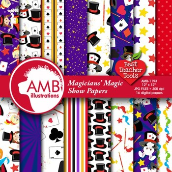 Magic Digital Papers, Magic Party papers, Magic Show Paper