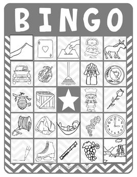 CVCe Bingo
