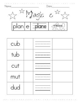 Magic -E