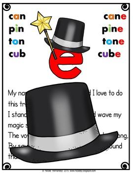Magic E / CVCe pattern / split digraphs{Poem}