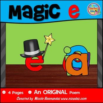 Magic E / CVCe pattern / split digraphs Poem
