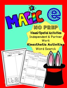 Magic E Phonics Activities