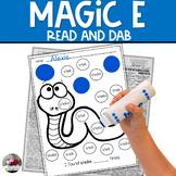 """""""Magic E"""" Bingo Dauber Activity"""