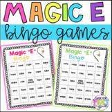 Magic E Bingo Games: CVCe - Silent E