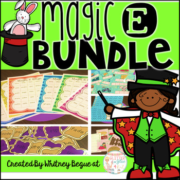 Magic E Bundle {Features 7 interactive games and printables}