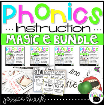 Magic E Bundle Phonics Instruction