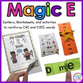 Magic E (CVC, CVCE)
