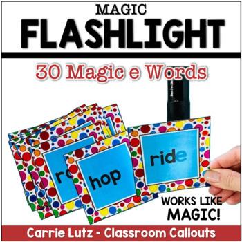 Magic E {CVCE }  Flashlight Magic