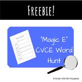 Magic E/ CVCE Word Hunt