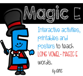 Magic E - CVCe Activities, Posters and Worksheets