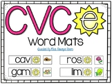 Magic E - CVCe Word Mats