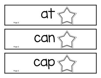 Magic E Cards